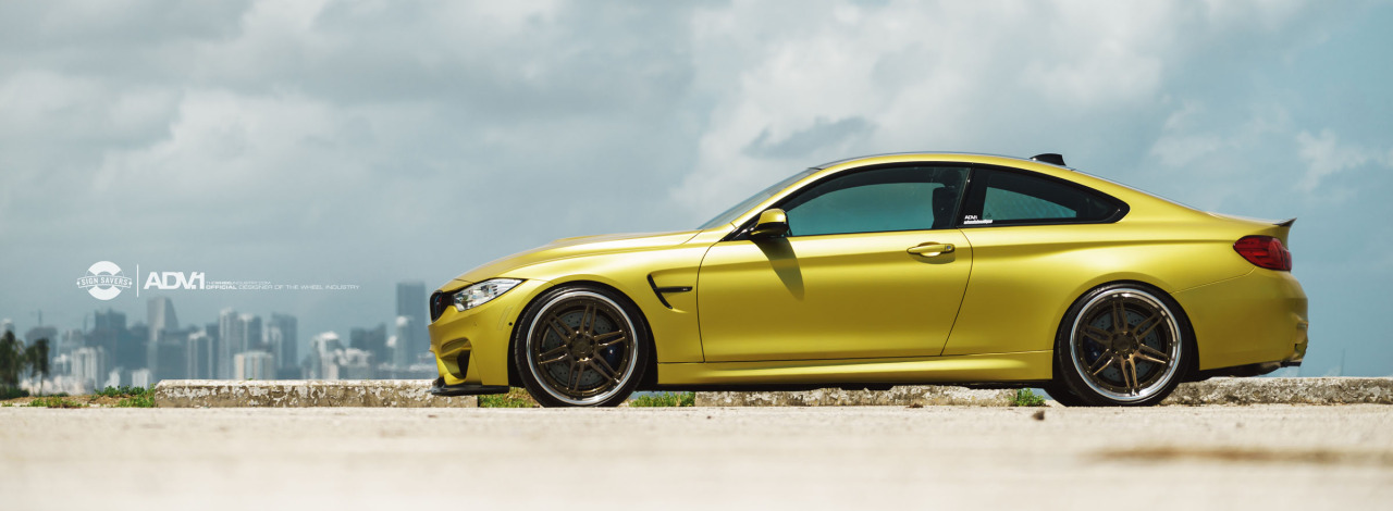 Austin Yellow BMW F82 M3 Full Paint Protection